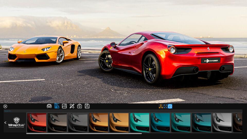 3D Changer UI