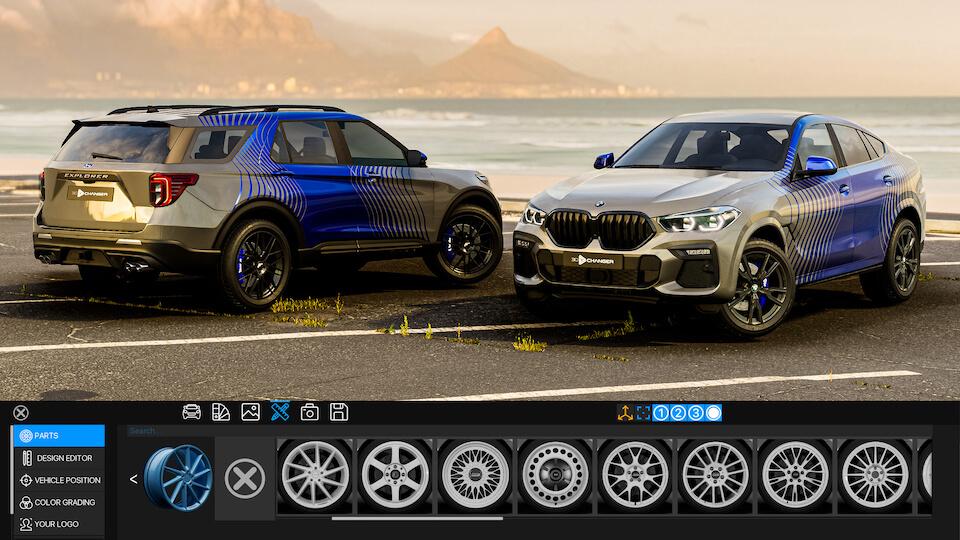 3D Changer - van